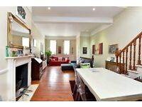 *Stunning four double bedroom town house to rent in Battersea,SW11,garden and toof terrace,