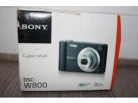 Sony Camera (Cyber-shot DSC-W800) + Memory Card (SanDisk Ultra 64 GB SDXC)