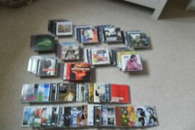 Indie CD`s collection over 80 immaculate discs