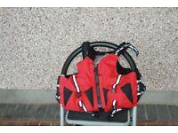 Peak Kayaking Buoyancy Aid and Lifestystems Mountain Space Bag