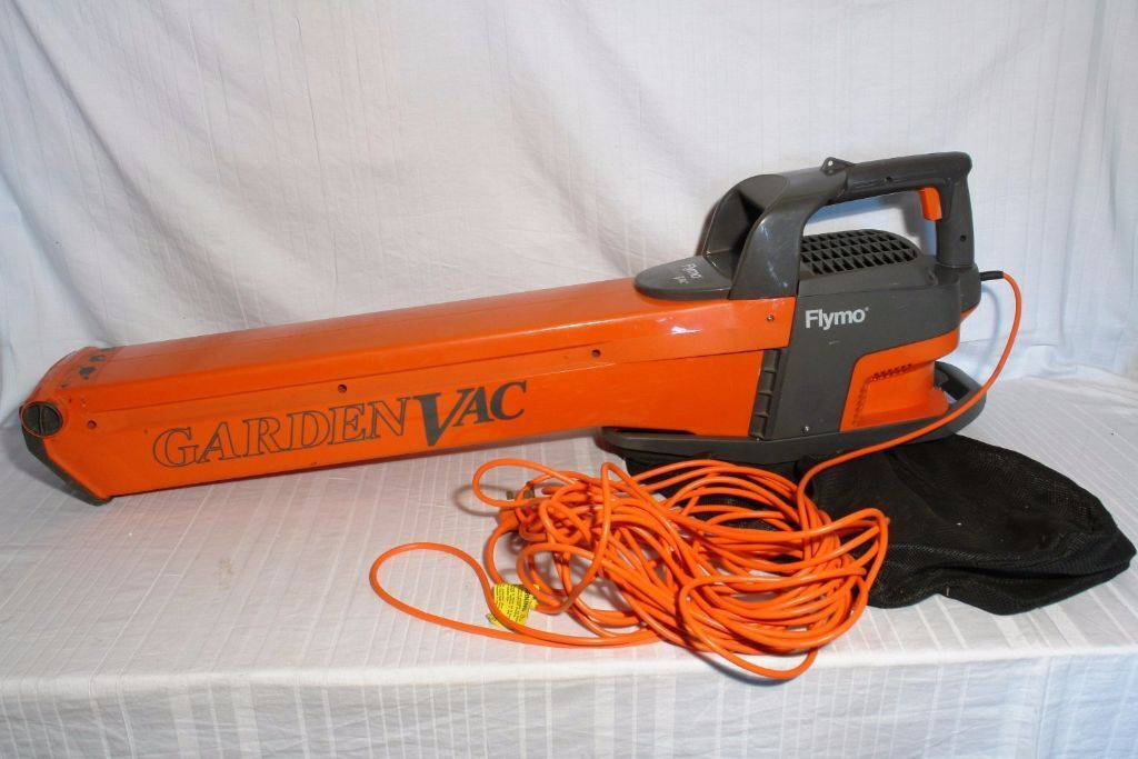 Best Electric Leaf Blower Vacuum : Flymo garden vac ev electric leaf blower vacuum in