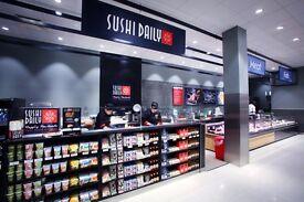 SUSHI DAILY- sushi shop franchise inside top supermarkets ! All UK !!