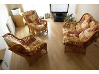 2 Seater sofa with chairs