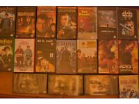 Large job lot of VCR video tape (Disney, Harry potter, James bond,LOTR and many more)