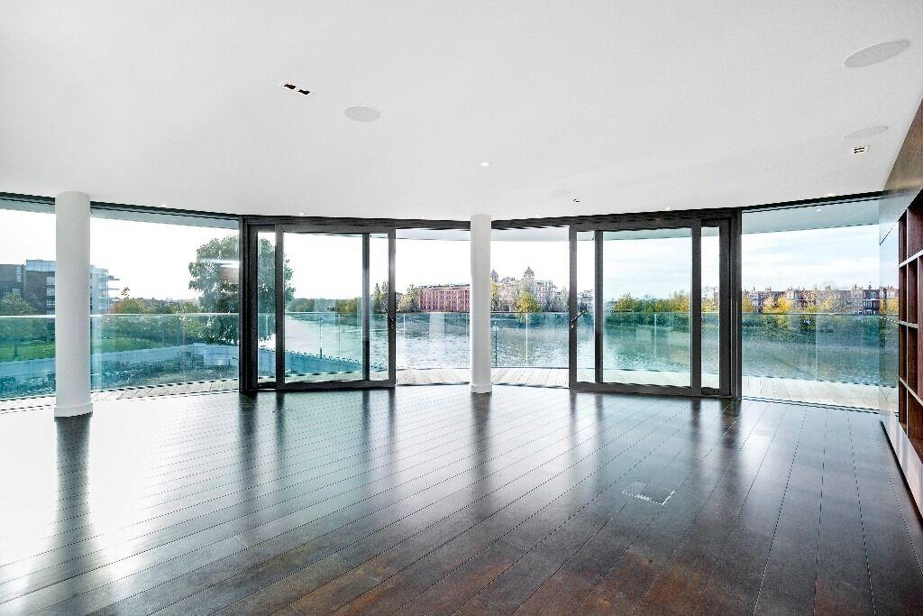 A beautiful three bedroom apartment in award winning development Fulham Reach, Parr's Way, W6