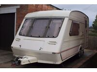 Fleetwood Colchester 2 birth caravan 1993