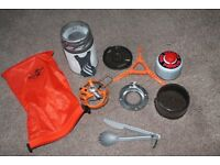 JETBOIL Flash Zip Carbon Cooking System NEW
