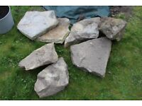 Free large garden rocks perfect for landscaping