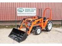 Kubota B1600 20HP Compact Tractor With Front Loader