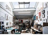Creative studio private desk space to rent / 400sqft / Notting Hill / W10