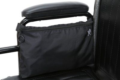 Pembrook Wheelchair Pouch Bag - Black - Great simple accessory pack for your