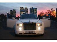 VOGUE EVENTS WEDDING CAR HIRE ROLLS ROYCE PHANTOM / BENTLEY HIRE / LIMOUSINE HIRE / CAR HIRE LONDON