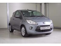 2009 Ford KA 1.2 Zetec 3dr,Full Service History, Cambelt Changed at 65896 miles