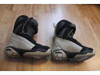 Ladies Salomon Snowboard Boots size 6.5