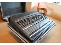 DDA Mixing desk, 24 channel, twin power supply, all flight cased