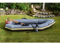 Avon Dingy tender rowing boat