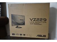 ASUS VZ229 Full HD 21.5 monitor - IPS, Ultra-slim, Sealed box