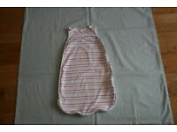 The Little White Company Baby Sleeping Bag 0-6months 0.5 Tog