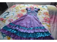 Girls designer party dress.