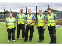 Synthetic Surface Installer