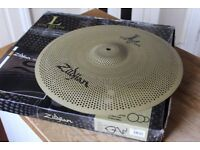 """Zildjian L80 18"""" Low Volume Crash Ride Cymbal in Excellent Condition"""