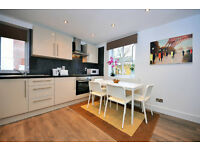 Recently refurbished modern two bedroom flat in Holland Park