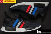 ADIDAS NMD R1 PK PRIMEKNIT TRI-COLOUR BLACK - US7.5 - NEW BB2887 Perth Perth City Area Preview