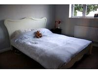 Stunning King Size Bed Frame and Superflex Comfort Foam Matress