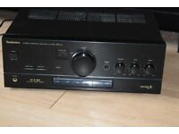 TECHNICS 300W DUAL AUX IN AMP PLAY IPOD PHONE CAN BE SEEN WORKING