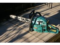"45cc petrol chainsaw with 18""Bar good condition"