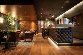 Part-time & Full Time Bartenders Required for City Centre Brasserie