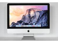 """Apple iMac A1311 21.5"""" 2011 i5 2.5ghz 8GB 500GB HD Sierra 10.12.4 30 Day Warranty"""