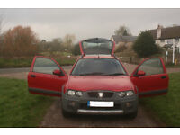 04 ROVER 25, STREETWISE, 1.4, EX CONDITION, LONG MOT, FREE WARRANTY