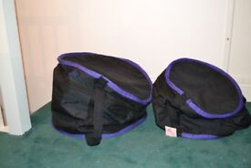 PULSE 22B AND 16F DRUM BAGS PADDED