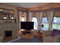 SOME EASTER DATES LEFT 3BEDROOM LUXURY CARAVAN CENTRAL HEATING / DOUBLE GLAZING