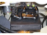 SONY PLAYSTATION 4 SLIM 500GB UNBOXED 3 CONTROLLERS