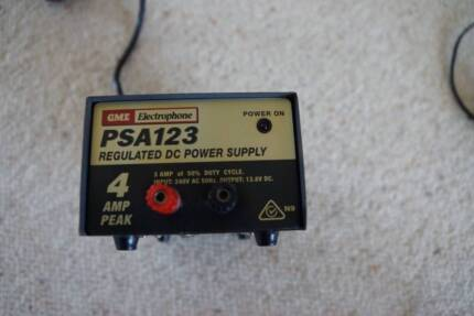 GME PSA 123 4 amp regulated DC power supply