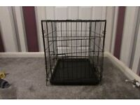 Small Pet Cage , collapsible with one door , nearly new used a couple of times only