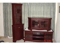Lounge Furniture Units Mahogany effect