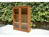 Pine wall cabinet, 50 cm x 63 cm