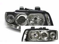 New Pair of Right hand drive UK Xenon headlights A4 8E 2000 - 2006 COMPLETE RHD