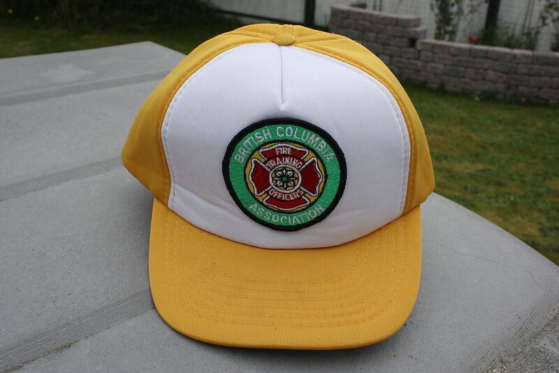 Ball Cap Hat - British Columbia Fire Training Officers Assn. Dept. (H715)