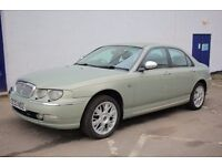 Very Good condition Rover 75 Connoisseur se,100% rust free,Full leather interior**3 months warranty