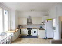 No Agent Fees, Professionals or a family 2 bedrooms Period flat, Newly Refurbished, furnished.