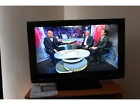 """Panasonic Viera 32"""" FREEVIEW TV with remote control. 3HDMI/SCART/SDHC. Exellent ."""
