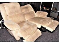 La-z-Boy Two Seater Recliner Sofa