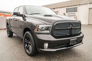2015 Ram 1500 Sport Black Edition. Loaded. Hemi.