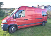 Campervan Motorhome Vauxhall Movano 2006 11 MOT newly fitted reconditioned engine + many new parts