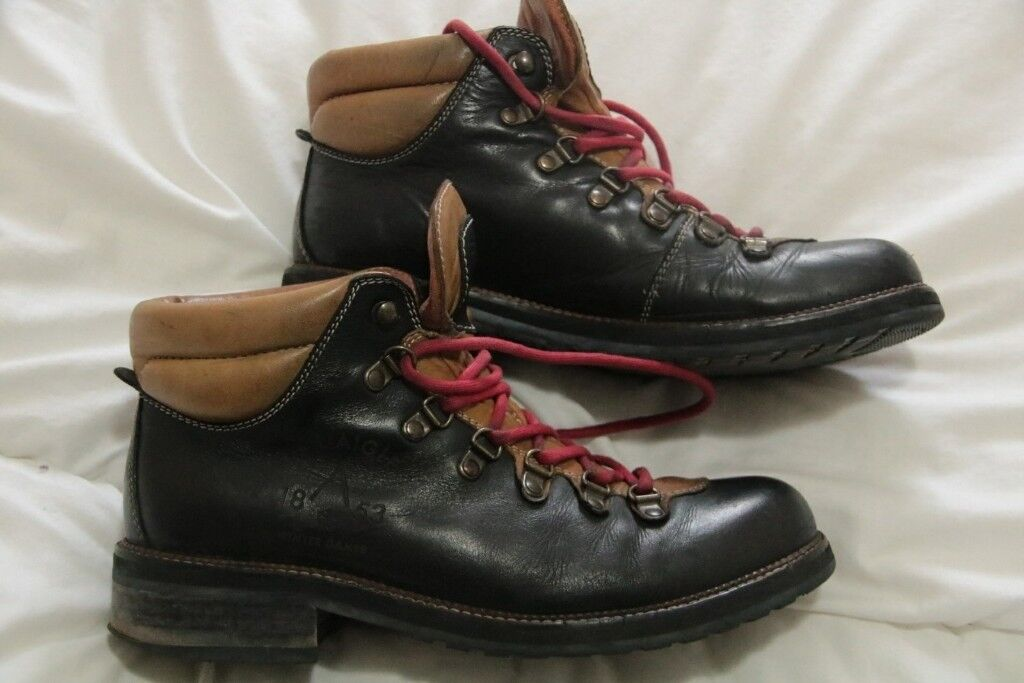 41 Size Leather Boots Eur In Used Aigle Uk7 Waterloo Men's qHcRXX