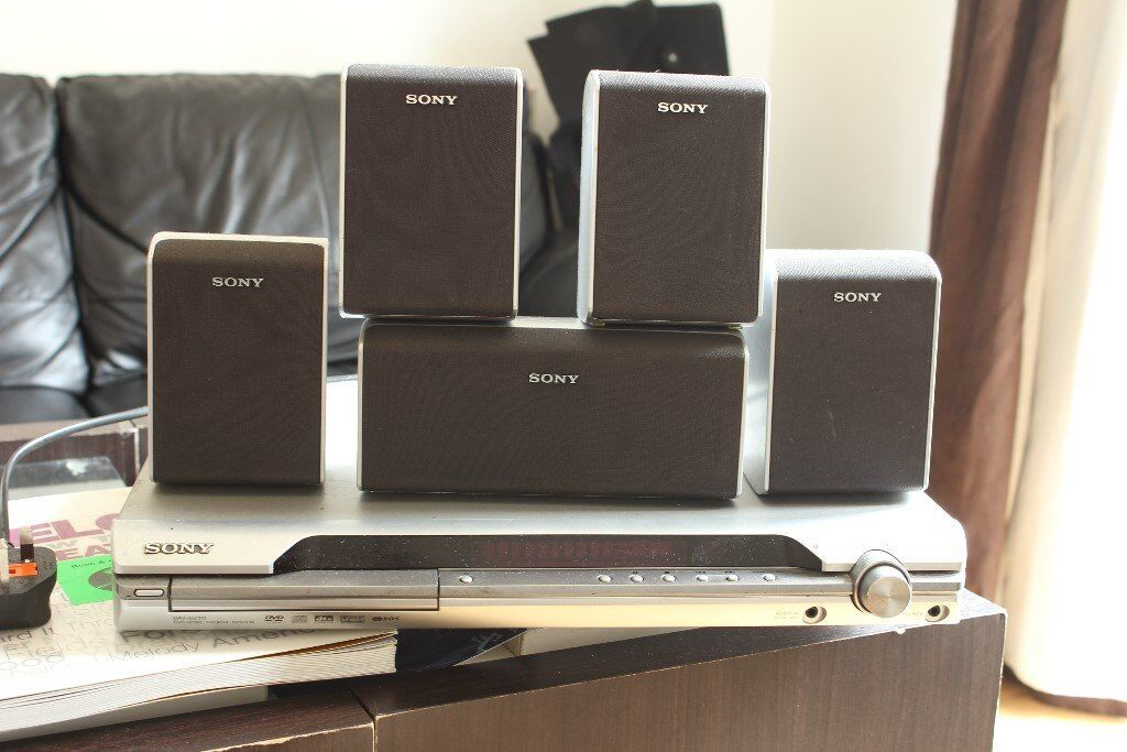 Sony S-Master 5.1 Surround sound system 850W RMS, DAV-DZ111, with SS-WS33 Subwoofer 140Watt